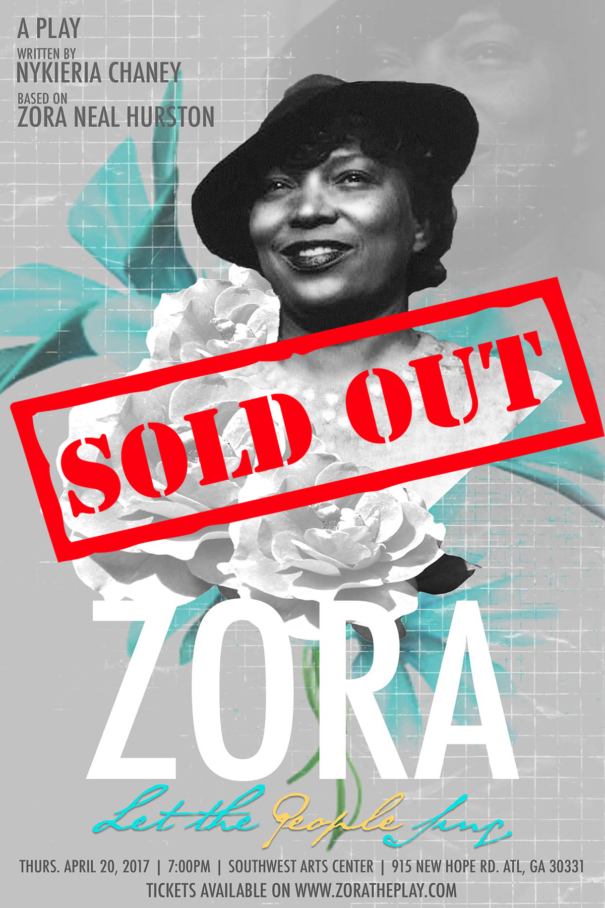 Zora! Let The People Sing! Sold Out