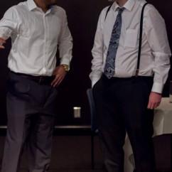 Tarique Francis as Langston Hughes - Curtis Wills as Carl Van Vetchen