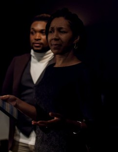 Victoria Wilson as Zora Neale Hurston - Tevin Johnson as Countee Cullen